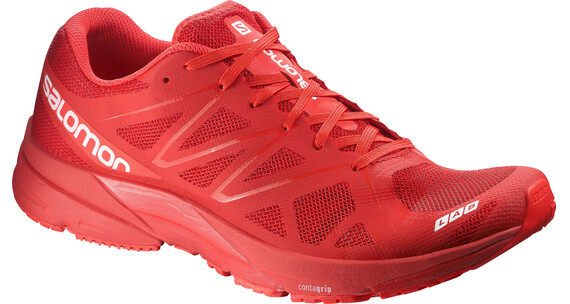 Salomon S-Lab Sonic Shoes Racing Red/Racing Red/White